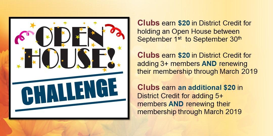 Open House Challenge