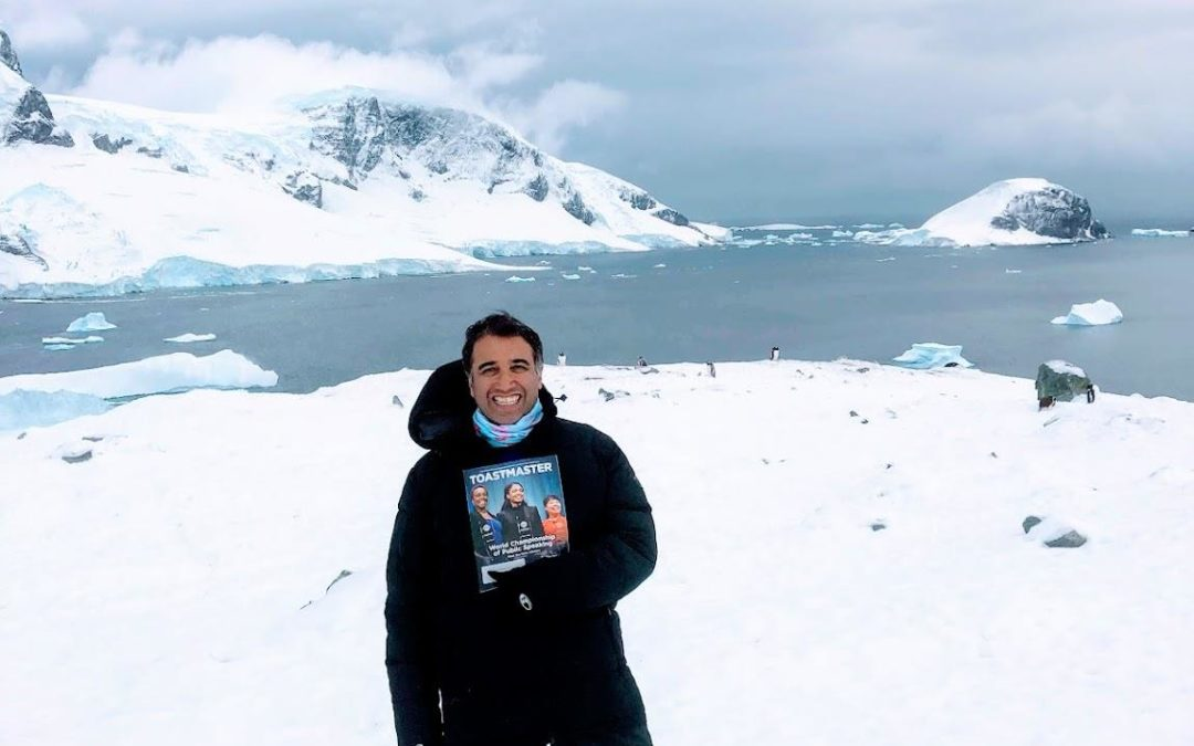 A Club Ambassador goes to Antarctica!